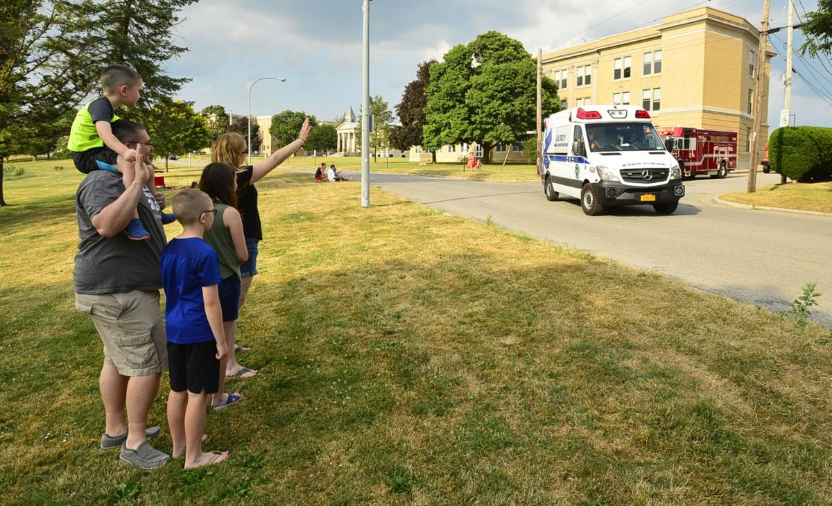 Kids invited to 'Spot-A-Truck' in Le Roy