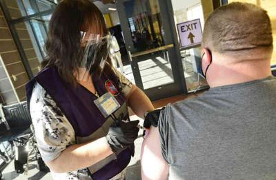 Genesee to move first doses to health dept.