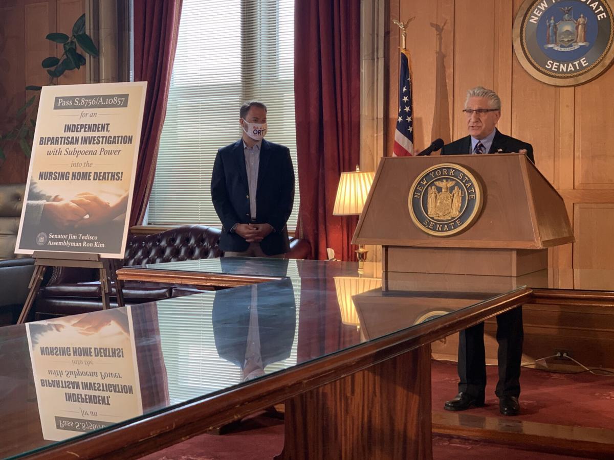 GOP pushes nursing home probe