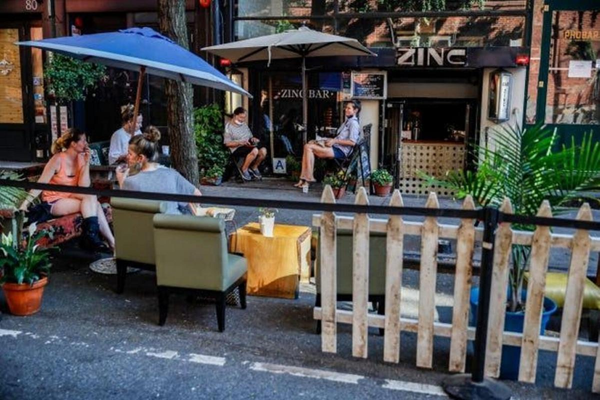Indoor dining to resume in NYC