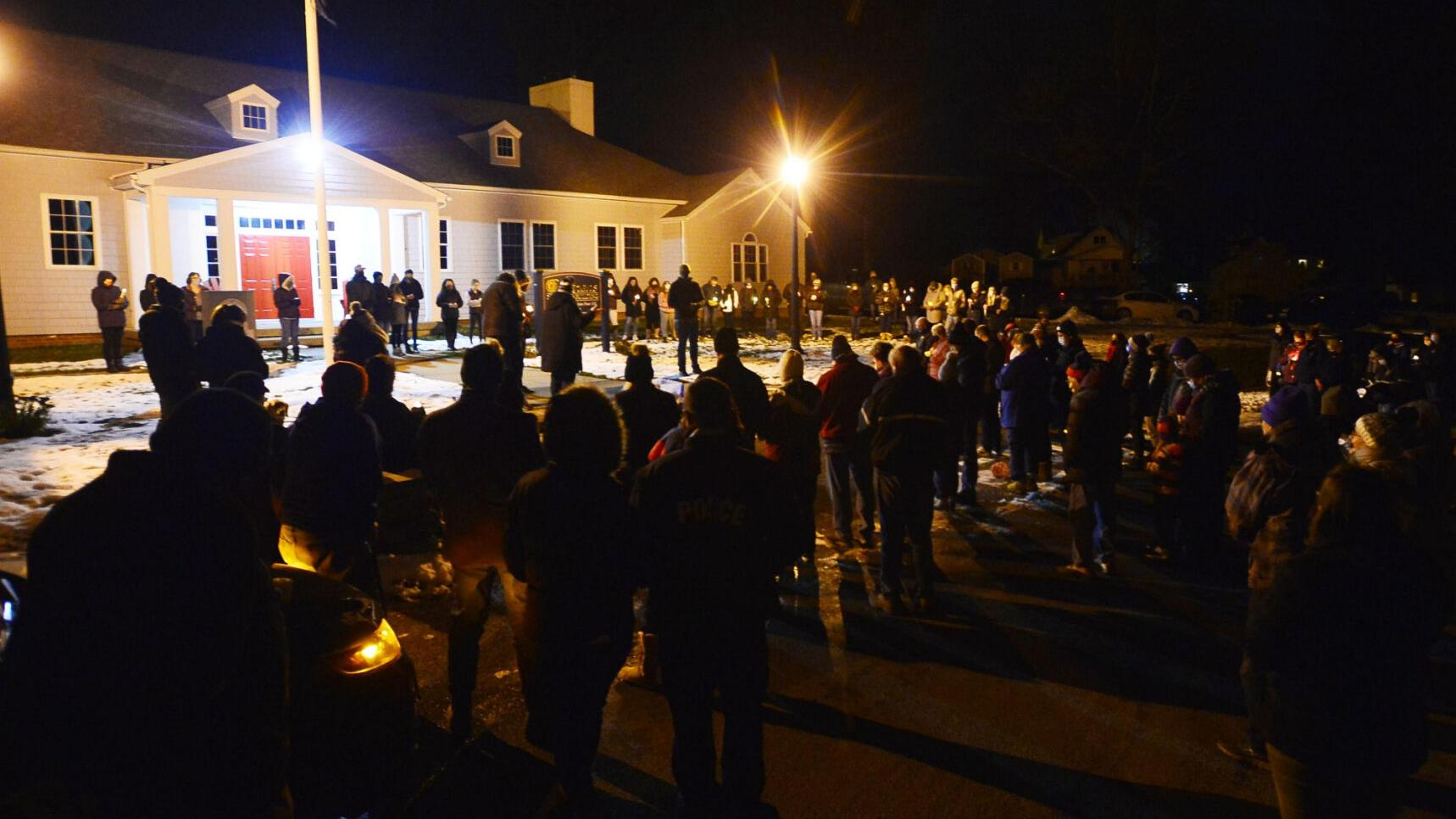 Hope and prayers: Vigil offers support for Warsaw man battling COVID-19