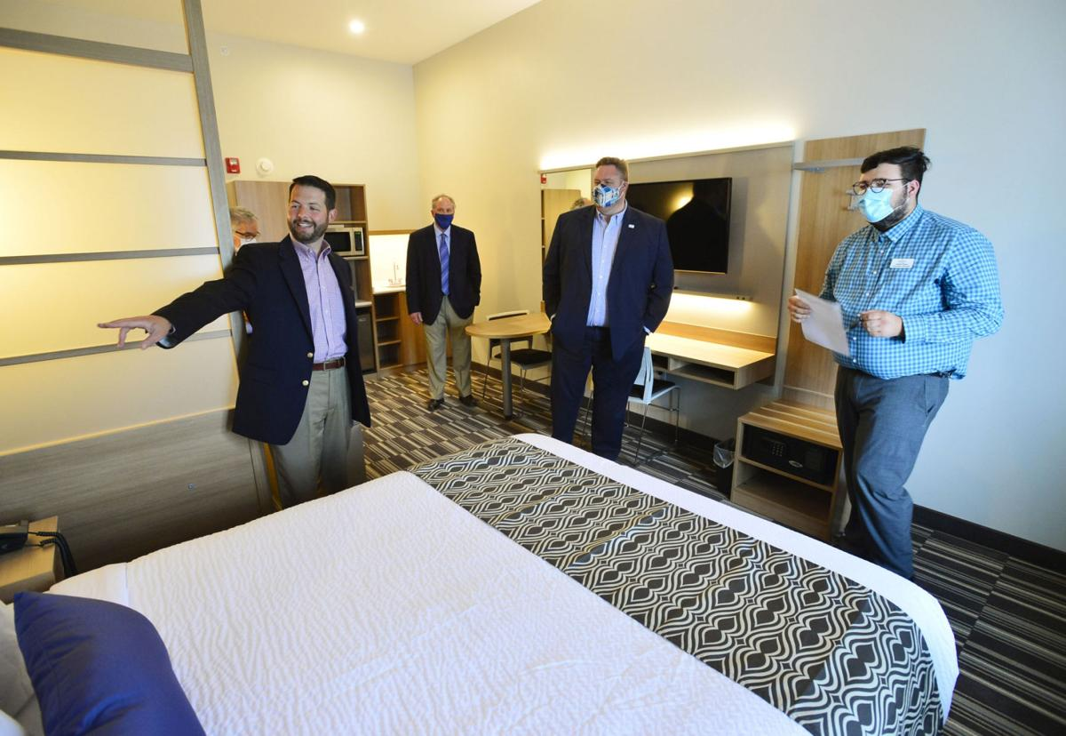 Microtel opening goes beyond