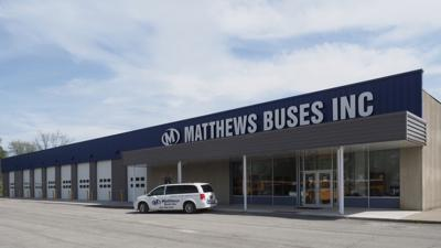 NY's largest bus facility opens in Avon