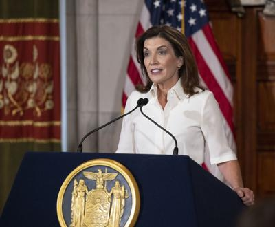 New York leaders welcome Gov. Hochul