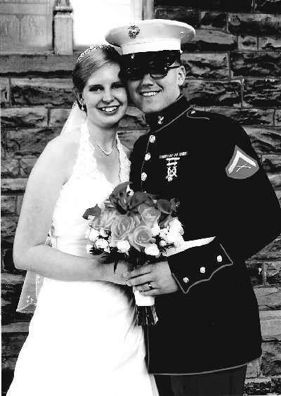 Lcpl. Jason and Elizabeth Staerr Mest