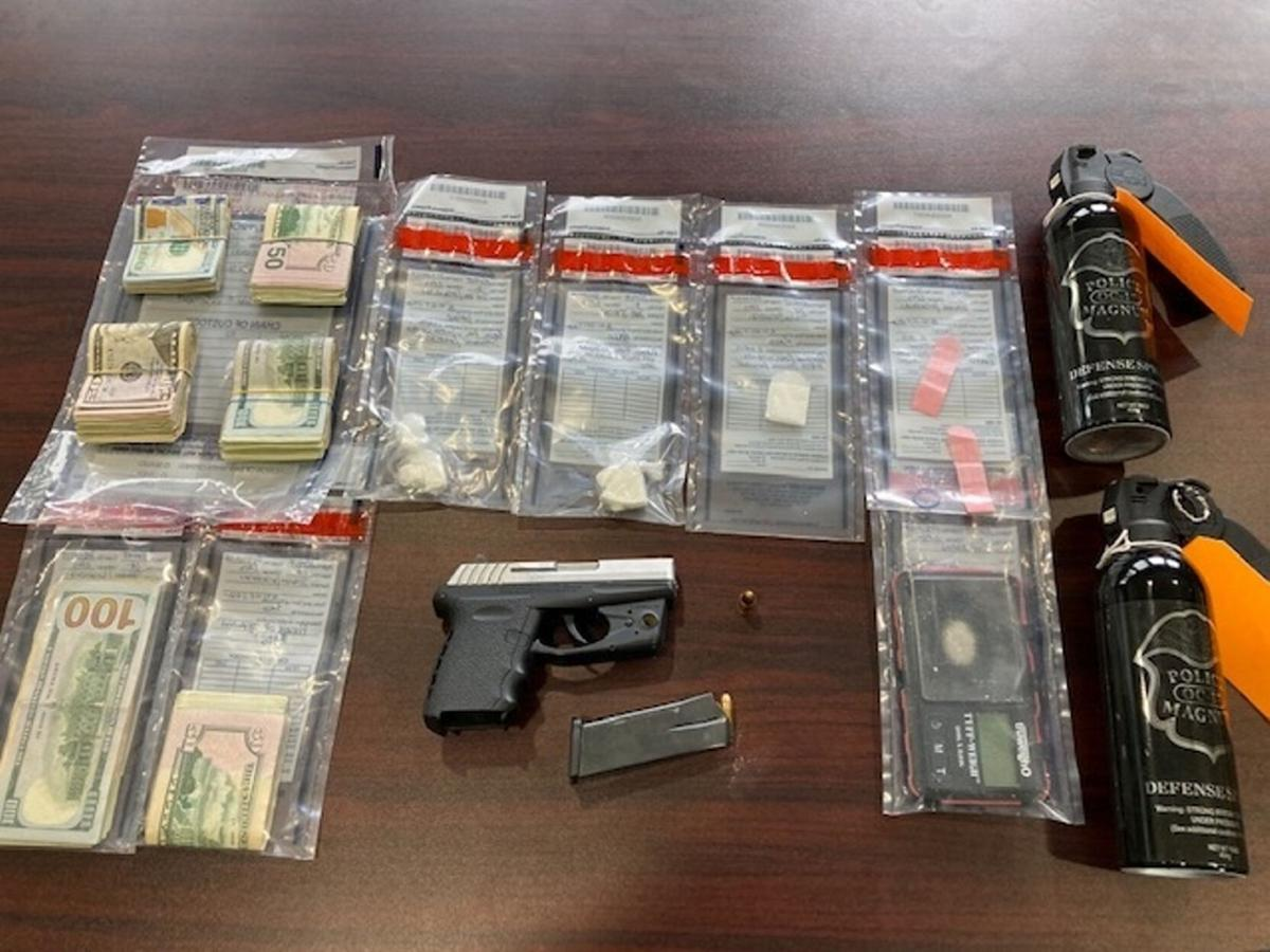 Drug bust yields crack and pistol