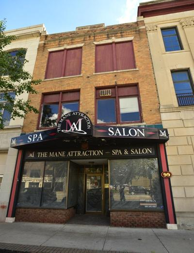 Cleaning up an 1865 Batavia building