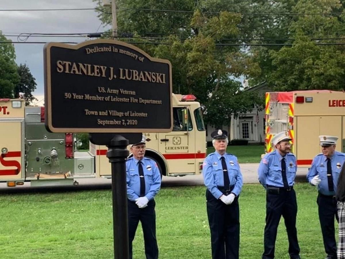 Park dedication in Leicester honors veteran