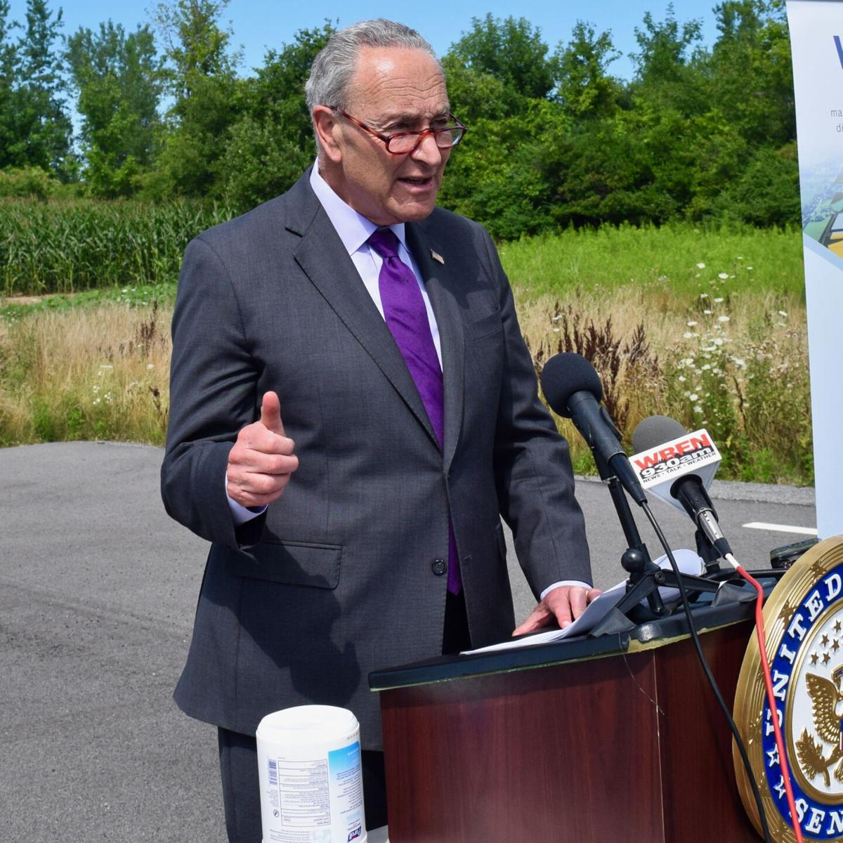 Schumer hopes to aid STAMP