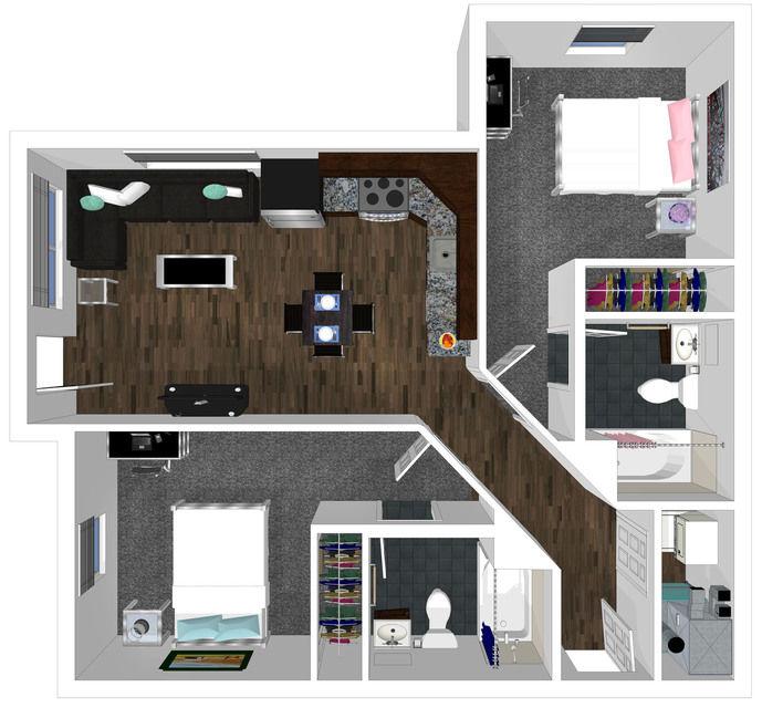 College Park - 2bd 2bth Apartment
