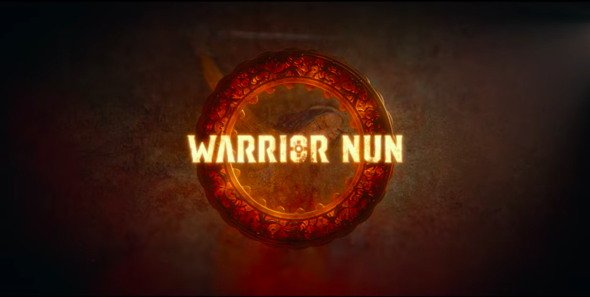 Warrior Nun's title card.