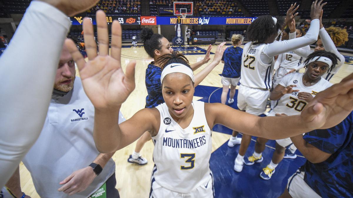 West Virginia guard Kirsten