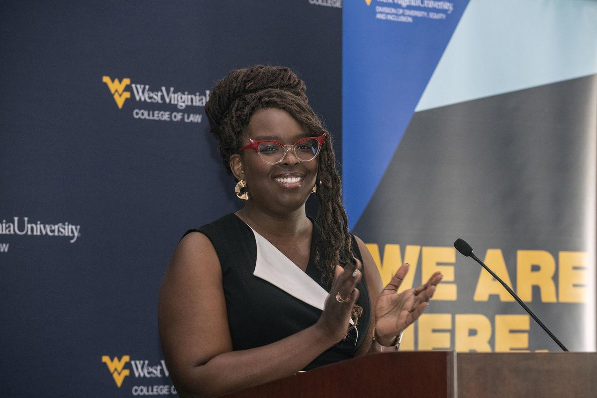 Meshea Poore, WVU Vice President for Diversity, Equity and Inclusion