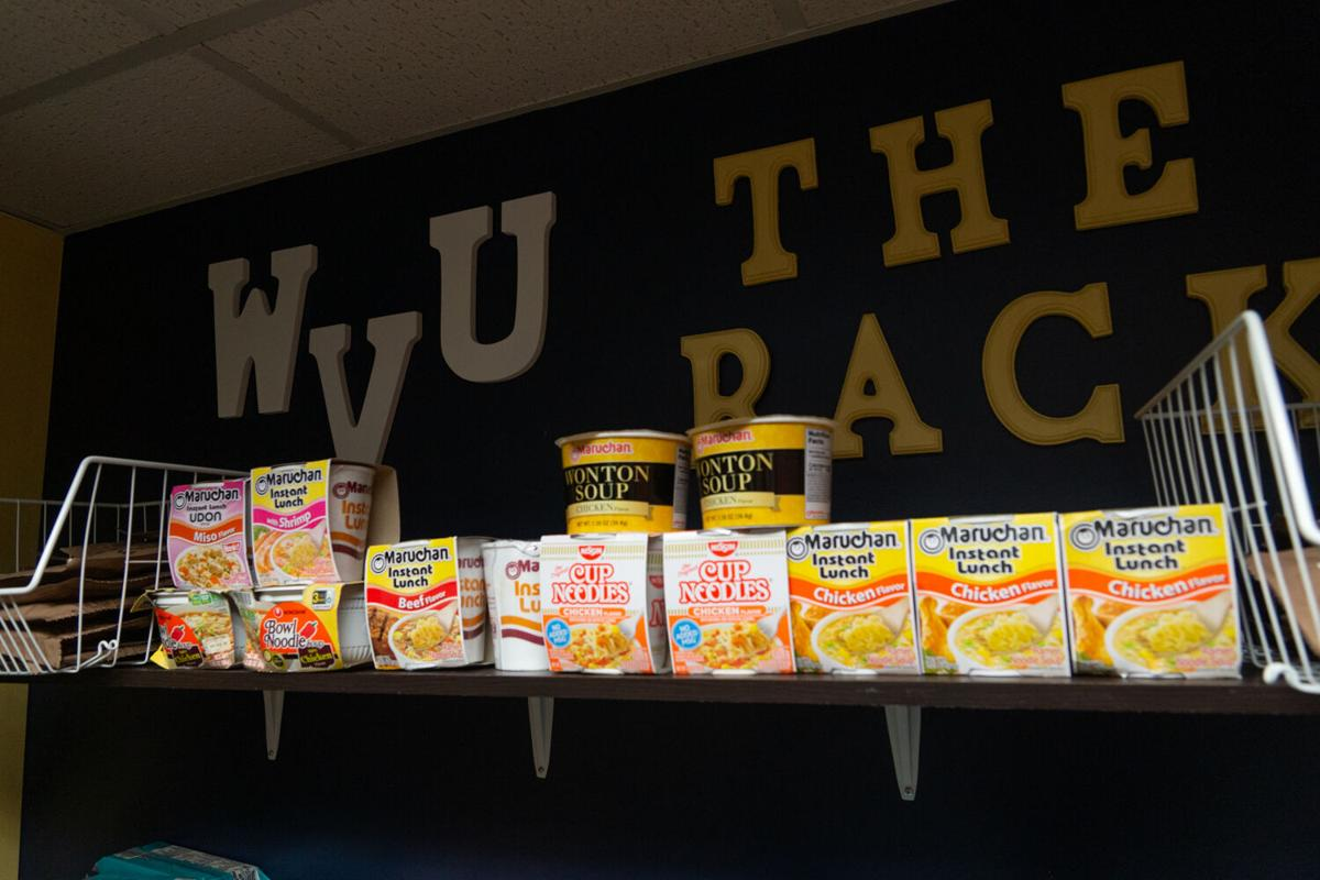 WVU The Rack Food Pantry at the Mountainlair