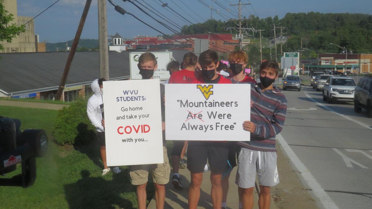 Mon. County High School Protest 8