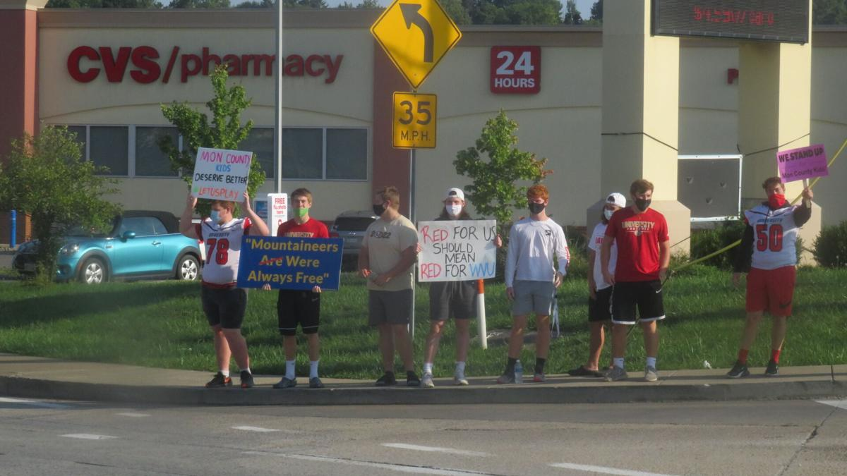 Mon. County High School Protest 9