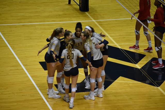 wvu volleyball team