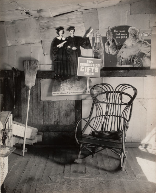 A photo from the Walker Evans American Photographs Exhibit via the Art Museum of WVU.