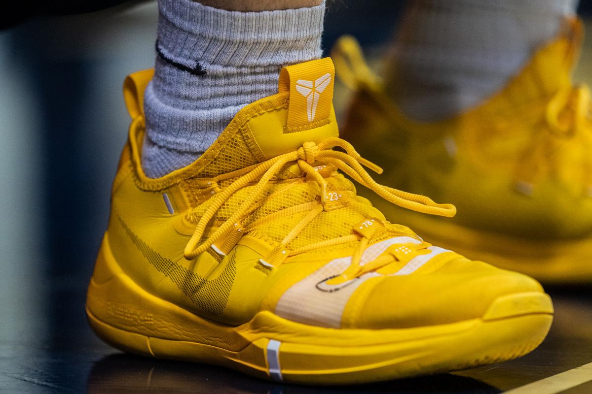 Chase Harler wears the Nike Kobe A.D.
