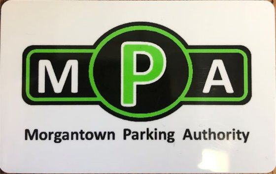 Front of Parking Smart Card