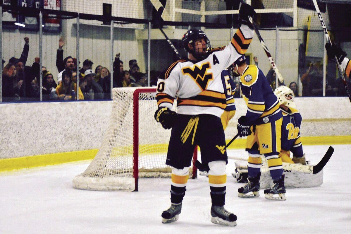 wvu hockey prepares for conference opener sports thedaonline com
