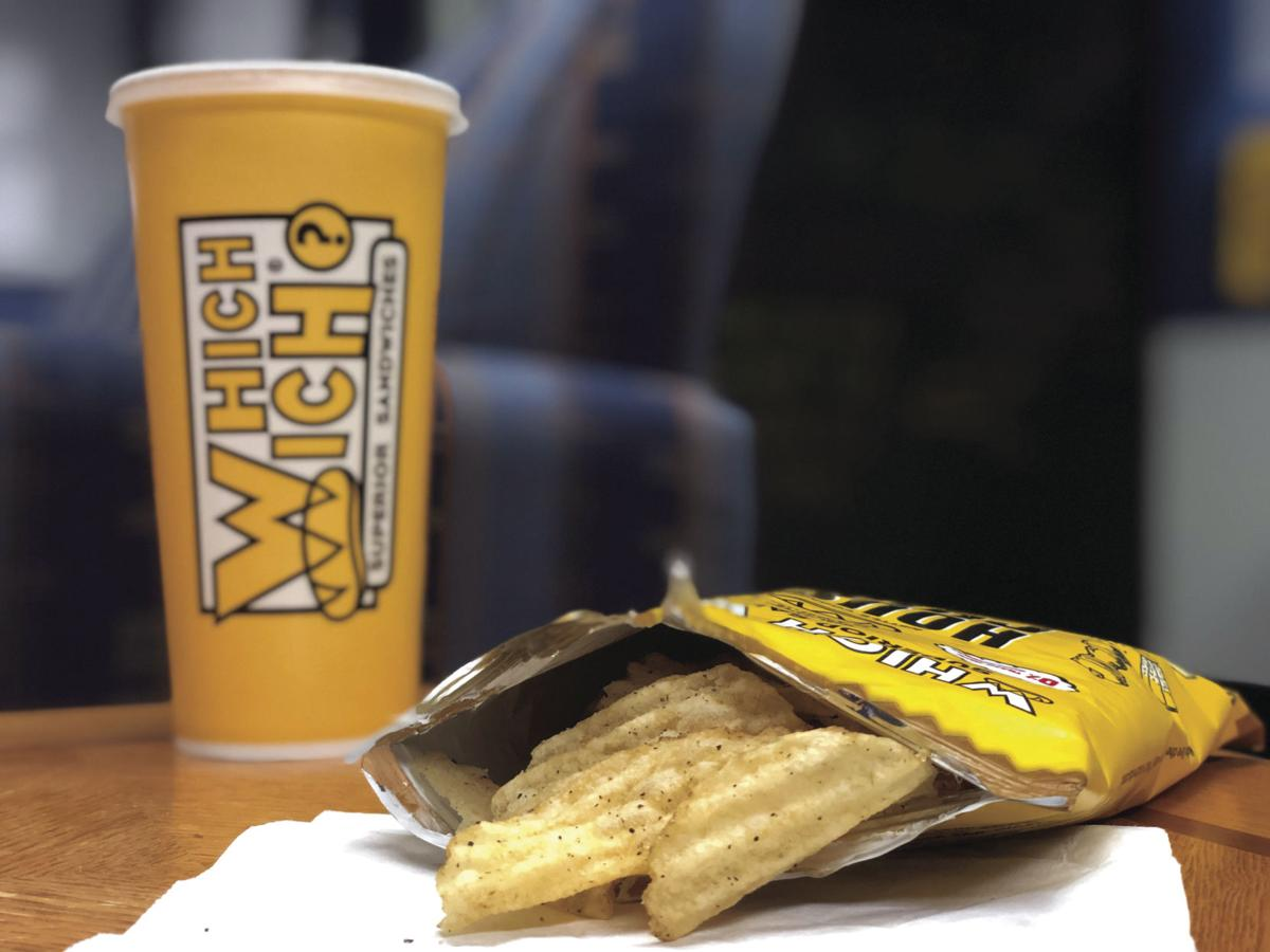 which wich chips and drink