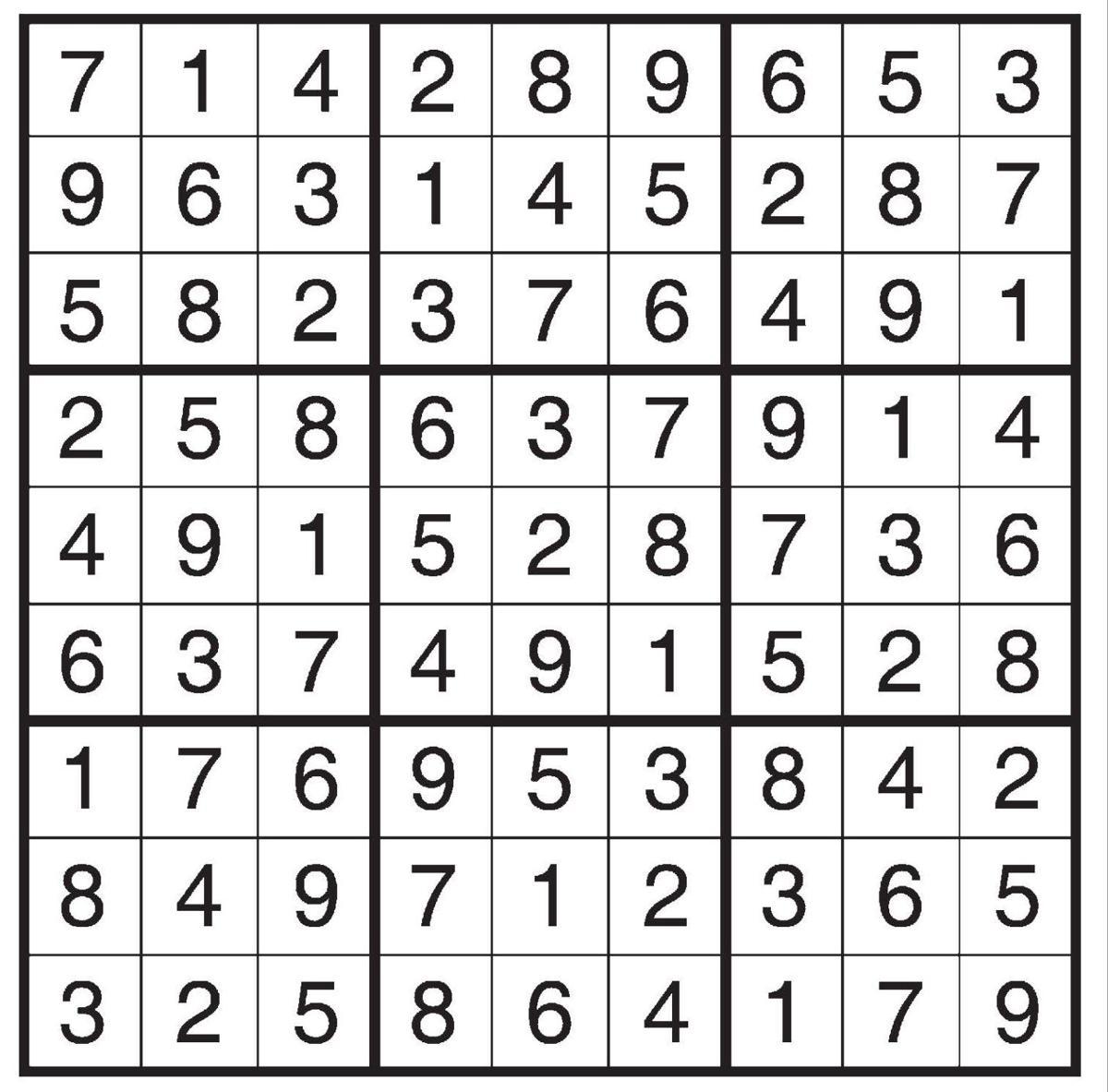 Sudoku 02-27-17