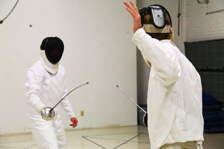 WVU fencing club gives students opportunity to learn sword