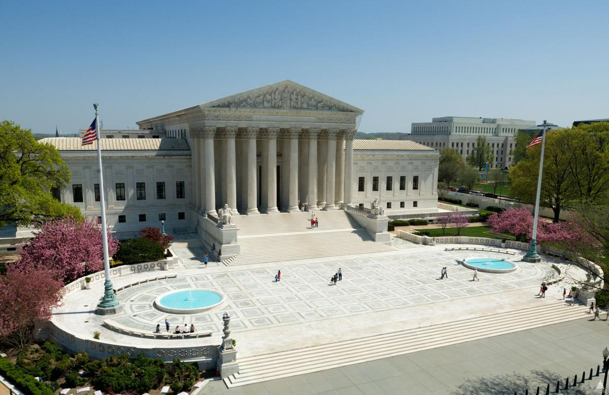 The United States Supreme Court building, pictured in 2011.
