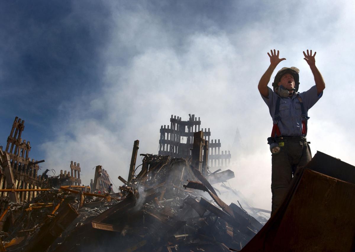 fireman at ground zero