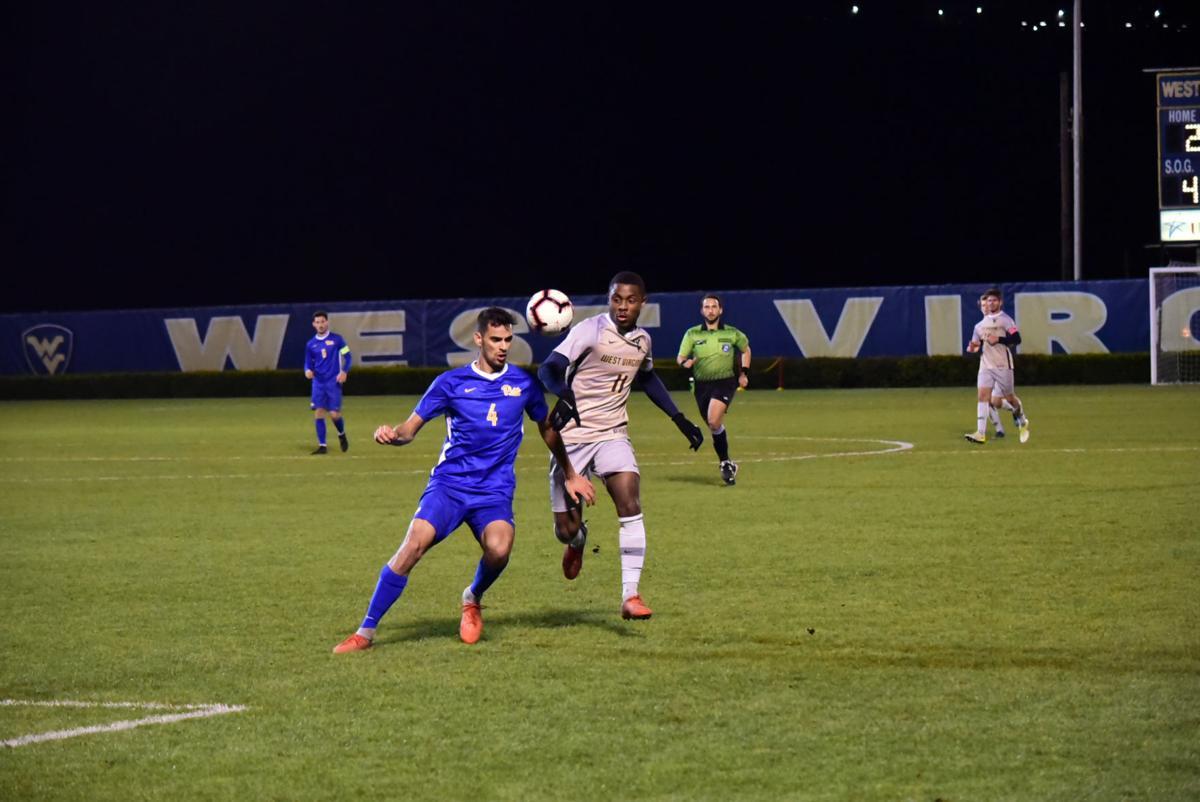 wvu men's soccer against pitt