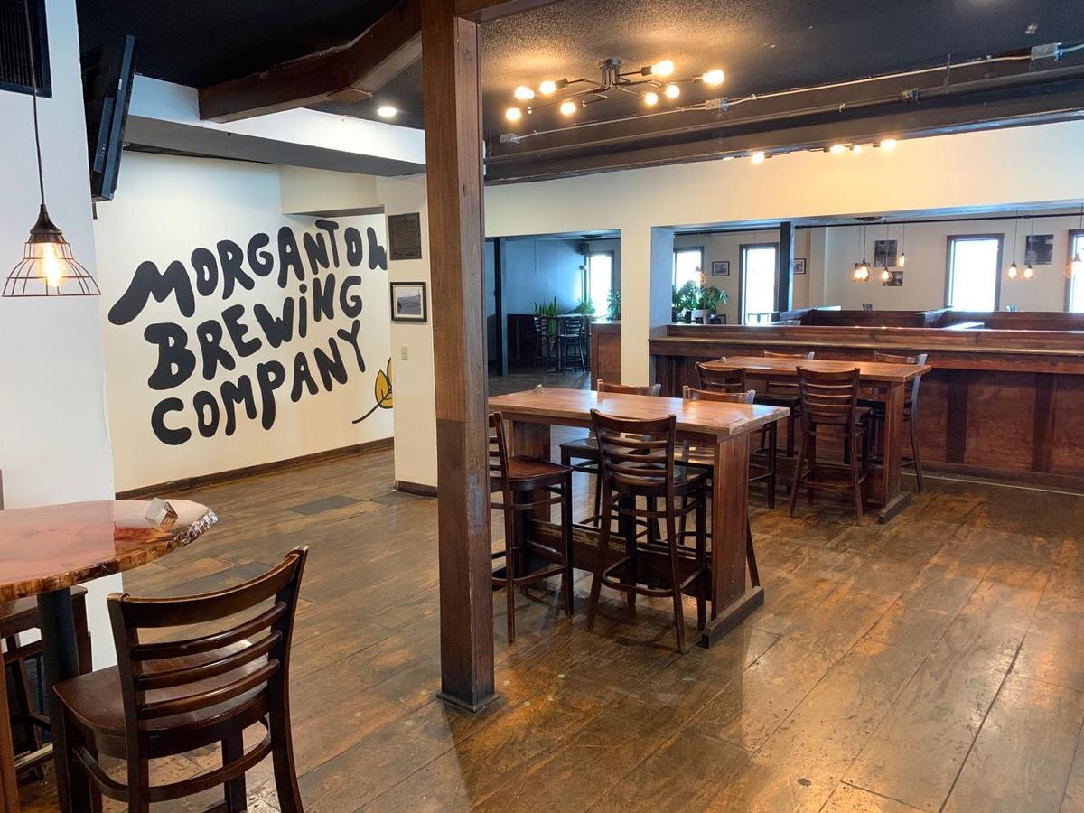Morgantown Brewing Company interior