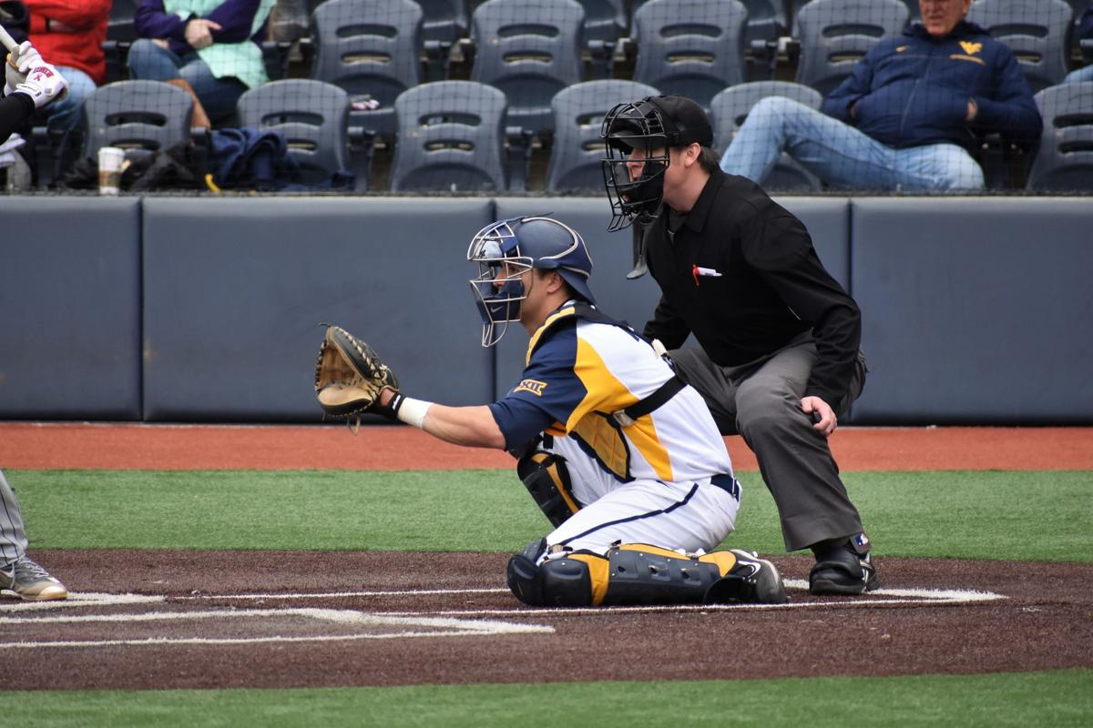 Chase Illig, pictured during a 2018 WVU baseball game, is currently in quarantine due to COVID-19.