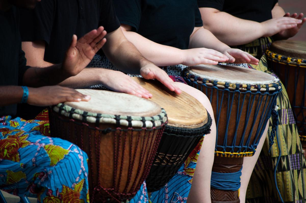 WVU African Drum and Dance ensemble  (1)