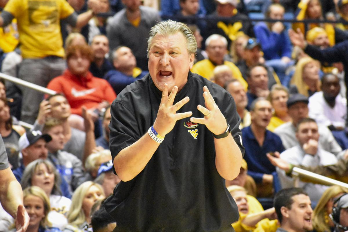 Mar. 7, 2020 - Head Coach Bob Huggins voices his frustration when facing off against Baylor at the Coliseum