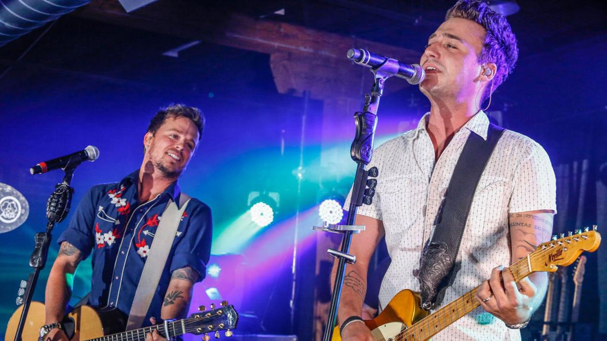 Country musicians Love and Theft makes stop at Schmitt's