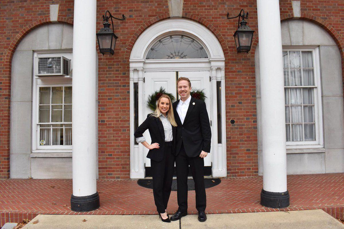 candidates for sga president and vice president Arbogast and Martin