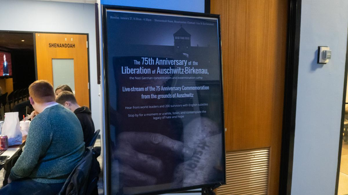Auschwitz-Birkenau liberation commeration
