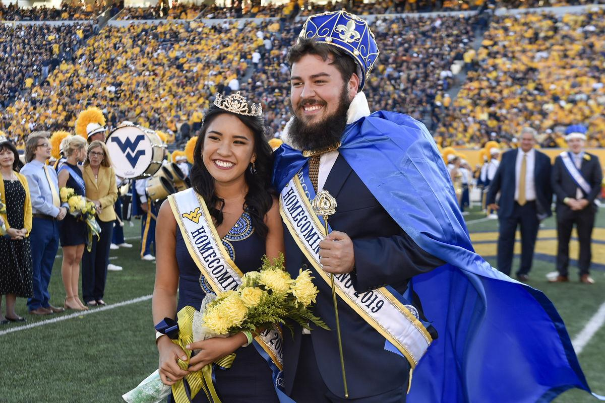 A week of Homecoming activities at West Virginia University culminated today (Oct. 5) with the crowning of Thaiddeus Dillie and Teresa Hoang as the 2019 king and queen.