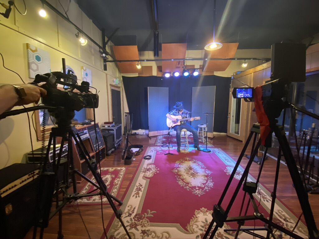 Artist Jeffrey Wayne Recording Live In Studio.jpeg