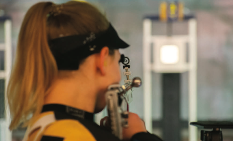 Sunday morning: West Virginia rifle shoots a 4710 to achieve victory over NC State.