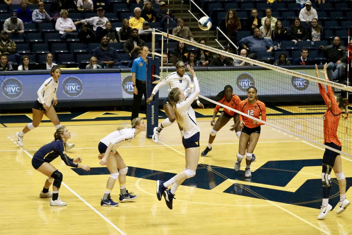 wvu volleyball