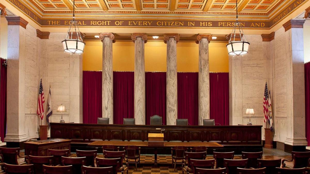 the wv supreme court chambers