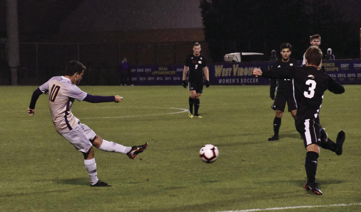 soccer against siue