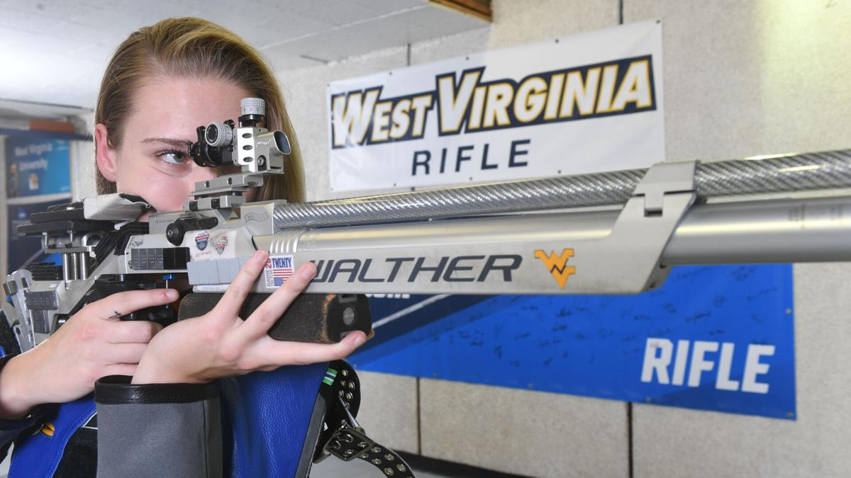 WVU rifle freshman Molly McGhin has made an immediate impact on the range for the Mountaineers in 2021.