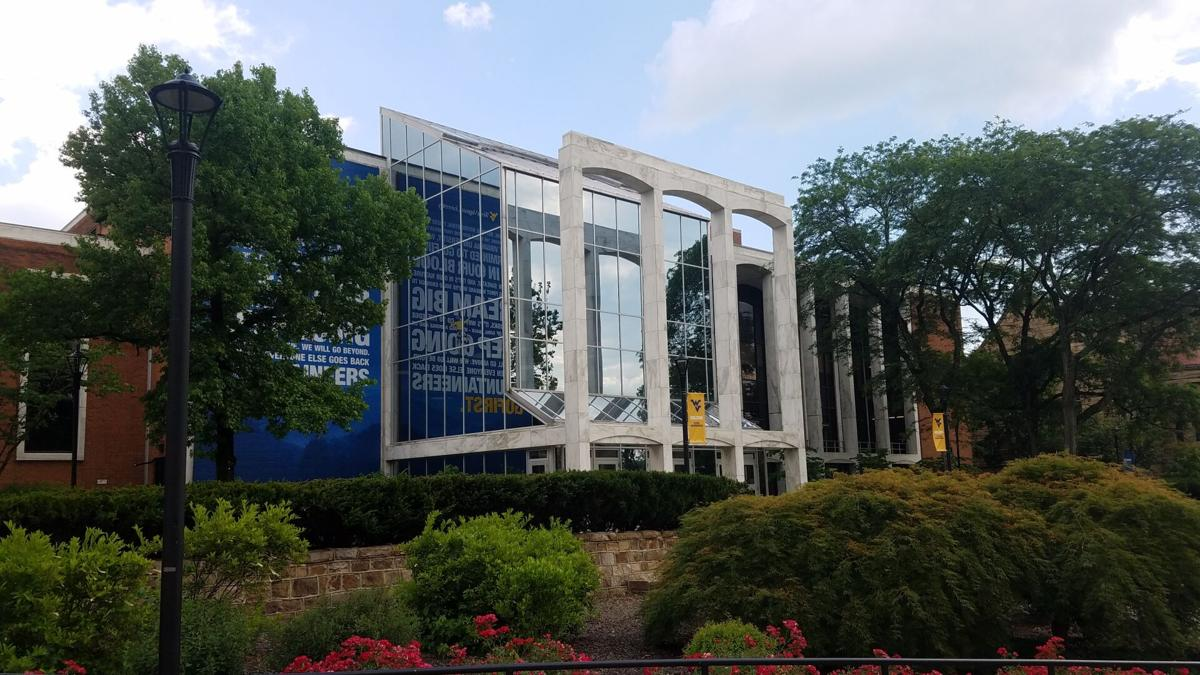 The exterior of the Mountainlair, WVU's student union.