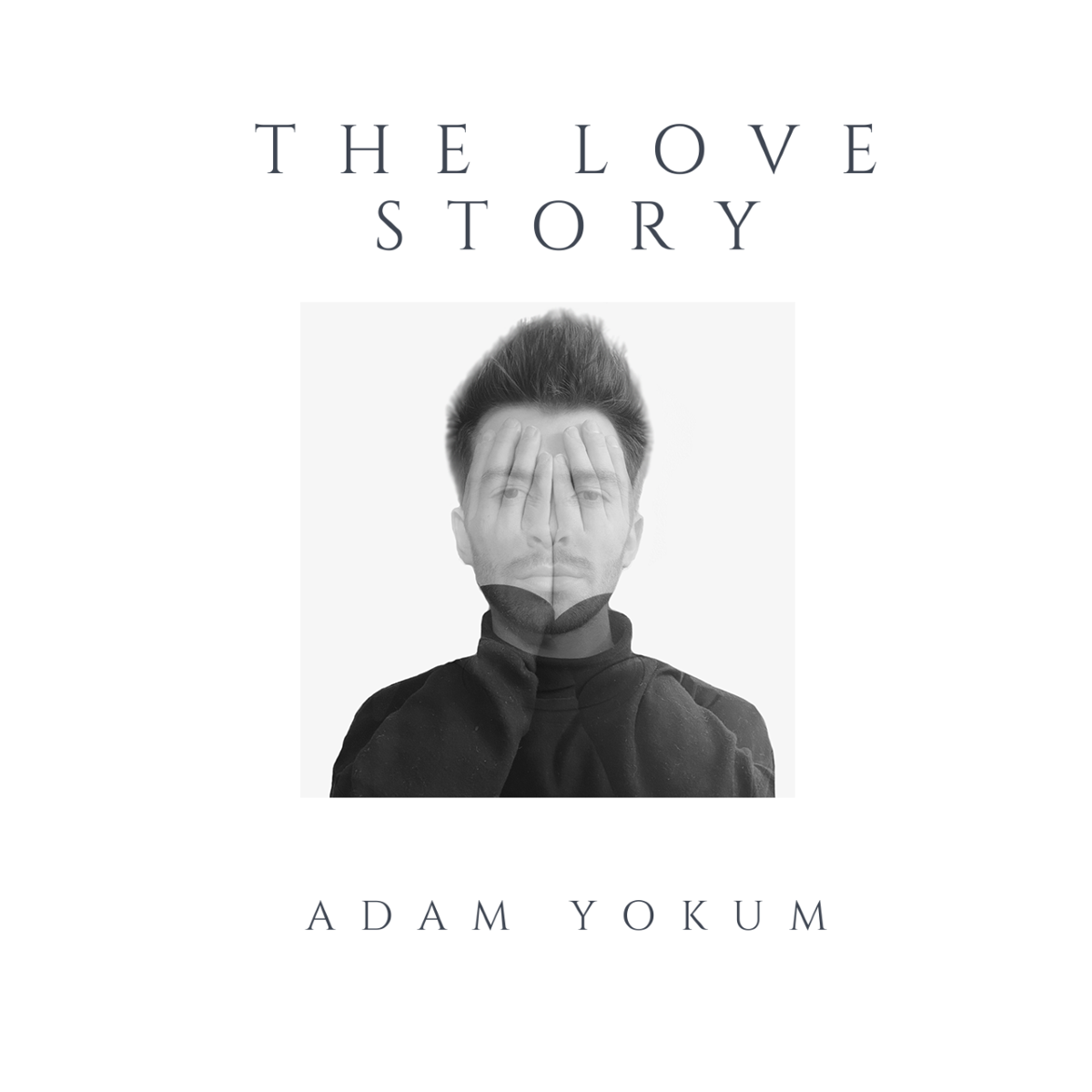 A graphic from Adam Yokum's album 'The Love Story.' The album will be released on Feb. 14, 2021.