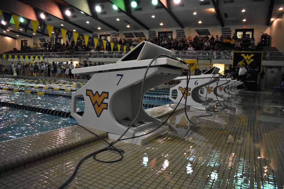 West Virginia broke nine pool records at Villanova on Saturday.