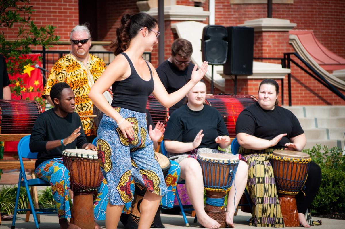 WVU African Drum and Dance ensemble (2)