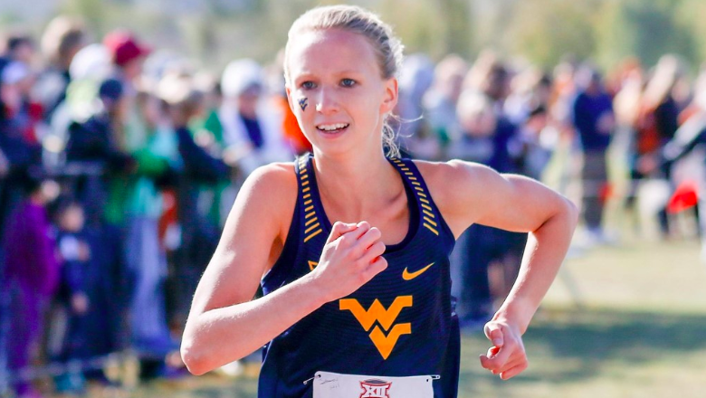 Olivia Hill picture from WVU